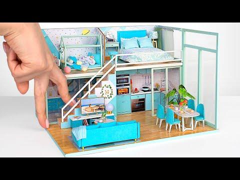 Маленькие домики из картона своими руками фото
