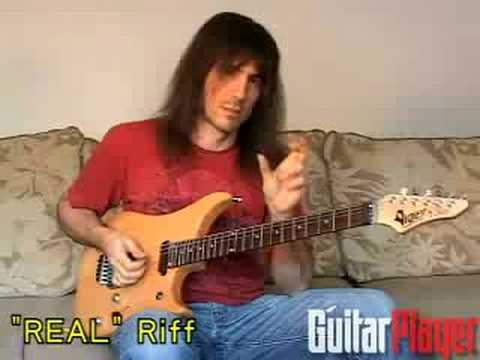 """Ron """"Bumblefoot"""" Thal's """"Real"""" Riff"""