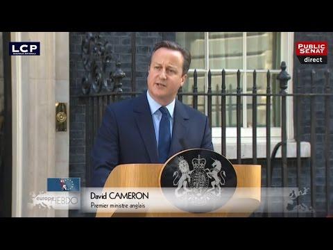 Le Royaume-Uni quitte l'union Européenne  - Europe hebdo (24/06/2016)