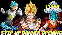 13400 Zeitkristalle Opening! Mein größtes Opening! 😱 Anniversary Step Up Banner Summons! | DBL
