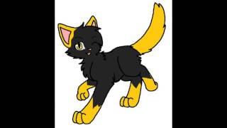 Коты-Воители. Племя Тополиного Пуха. Кошки и коты племени