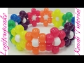 Kandi Tutorial How To Make A Simple Flower Cuff