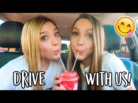 DRIVE WITH ME!! My Current Playlist & Taco Bell // Ft. Sasha Morga