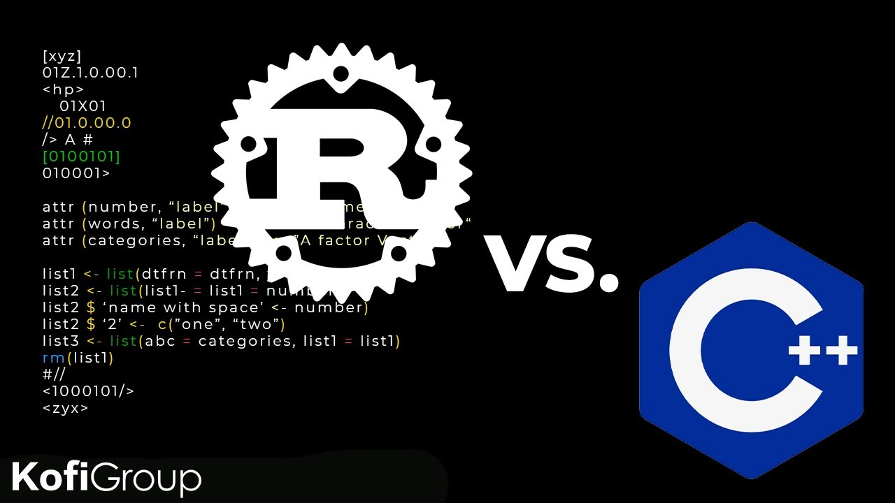 Rustlang vs C++: Which Language Should You Learn in 2021?