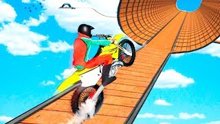 Bike Games - Impossible Bike Stunt Games 2018 3D: Tricky Tracks - Gameplay Android free games