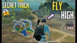 PUBG MOBILE| How To Make a Huge jump and fly | Pubg top secret trick and tips| Training camp....