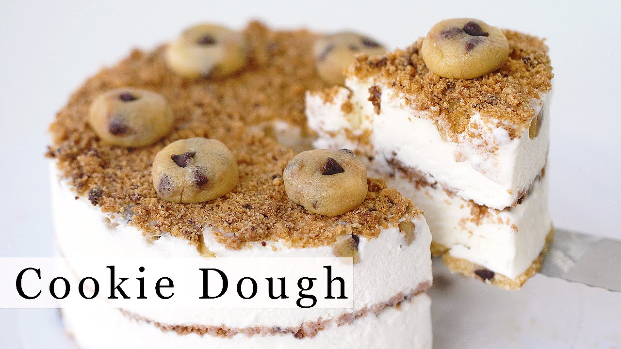 Chocolate chip cookie dough ice cream cake recipe chocolate chip cookie dough ice cream cake recipe youtube ccuart Gallery