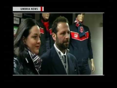 UMBRIA NEWS – Frankie Garage, presentazione linea tecnica FG Sport e merchandising AC Perugia