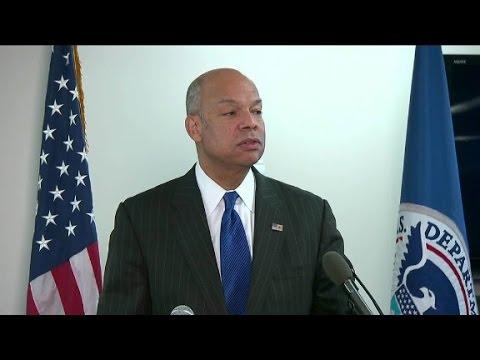 Sec. Jeh Johnson full interview