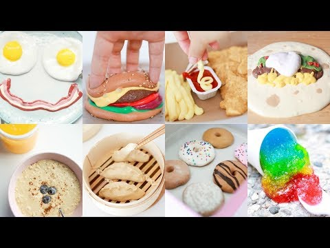 THE ULTIMATE SATISFYING SLIME FOOD COMPILATION 👩🏻🍳🍳🍔✨