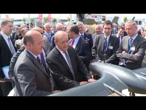Find a video summary of the first day of Eurosatory 2014