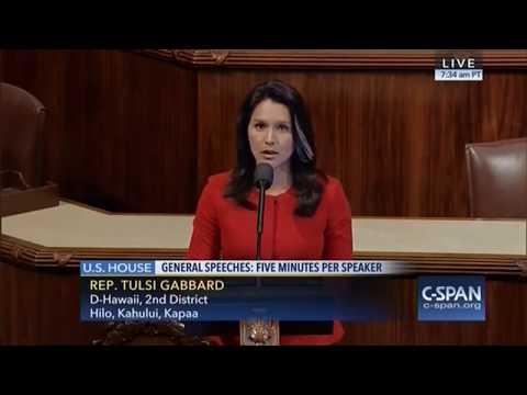 Rep. Tulsi Gabbard Calls For Immediate Halt to Dakota Access Pipeline