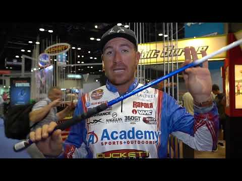 Duckett Jacob Wheeler Signature Series Rods at ICAST 2019