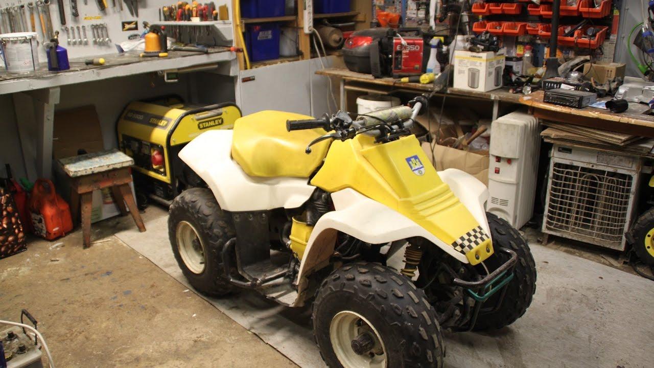 Suzuki Lt80 Starter  Therobbe88