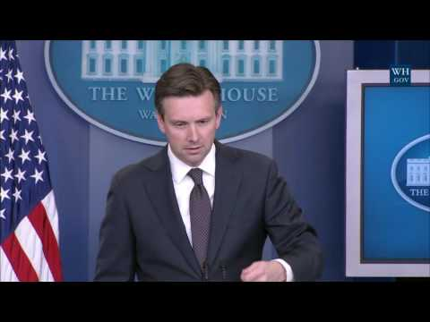 7/18/16: White House Press Briefing