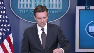 7/18/16: White House Press Briefing