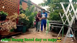 adisi buang botol pace day vs pace napy kocak😂😂