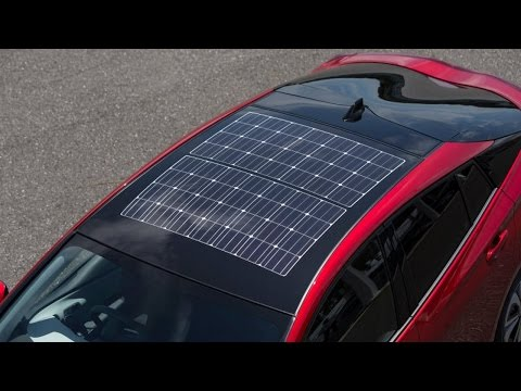 HOT NEWS 2017!!! Panasonic is building the solar roof for Japan's Prius plug in