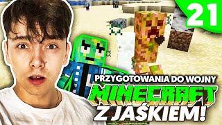 PRZYGOTOWANIA DO WOJNY SERWEROWEJ - Minecraft z Jaśkiem #21 | JDABROWSKY