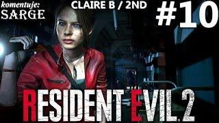 Zagrajmy w Resident Evil 2 Remake PL | Claire B | odc. 10 - Środek antywirusowy | Hardcore