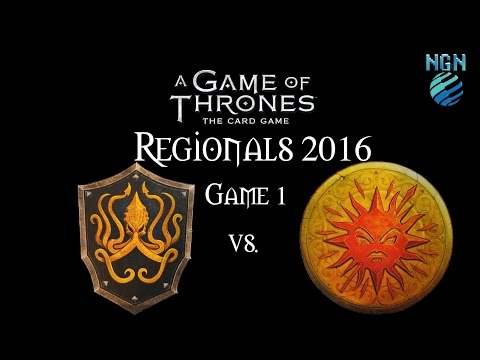 A Game of Thrones LCG 2.0 | Maritime Regionals 2016 - Game 1: Greyjoy Fealty vs Martell Lion