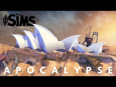 POST APOCALYPTIC SYDNEY OPERA HOUSE | RAIDER SETTLEMENT | The Sims 4 Speed Build | NOCC