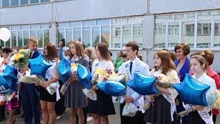 Последние звонки прошли в школах округа Луховицы