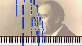 Frederick Delius - 5 Piano Pieces: No.2 Waltz for a Little Girl (Synthesia) [YM3812 / AdLib]