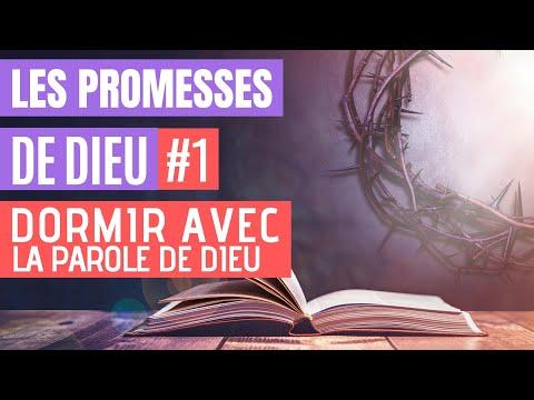 Les Promesses de Dieu - Versets Bibliques pour Dormir avec sons de la Pluie