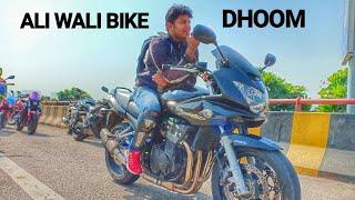 Video Riding ( DHOOM )wali bike bandit 1200 CC download MP3, 3GP, MP4, WEBM, AVI, FLV Oktober 2018