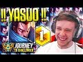 HIGHEST QUALITY YASUO GAMEPLAY - Journey To Challenger | League of Legends