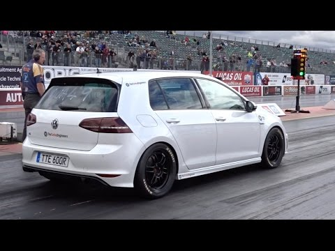 The Quickest MK7 Golf R In The World (on 102 pump gas) 10.67 @ 128mph