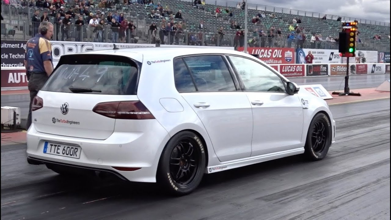 the quickest mk7 golf r in the world on 102 pump gas 128mph youtube. Black Bedroom Furniture Sets. Home Design Ideas