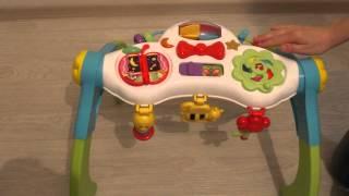 Обзор игрушки, Игровой развивающий центр турничок WinFun | BebyGo