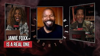 Jamie Foxx Is A Real One | DL Uncut | Laugh Out Loud Network