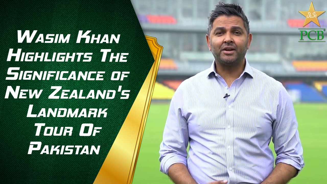 Chief Executive Wasim Khan Highlights The Significance of New Zealand's Landmark Tour Of Pakistan