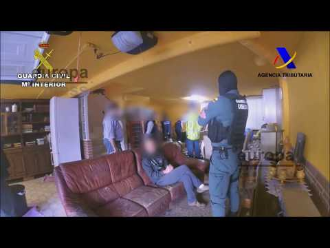 Diez detenidos por estafa y blanqueo a través de la compra de viviendas