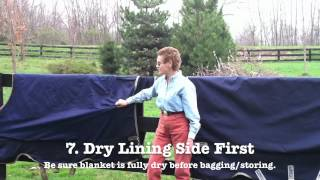How To Wash Your Horse Blanket