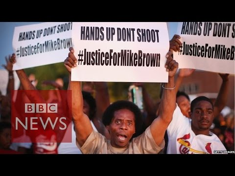 Michael Brown shooting: Anger at crackdown on protests in Ferguson Missouri  - BBC News