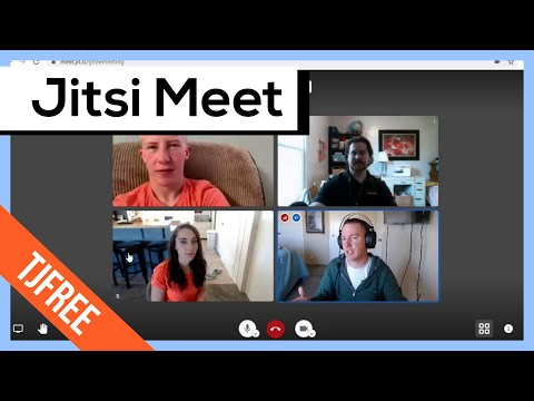 using-jitsi-meet-|-video-conference-demonstration