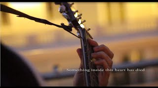 Green Day - 21 Guns acoustic (guitar fingerstyle + violin) + lyrics