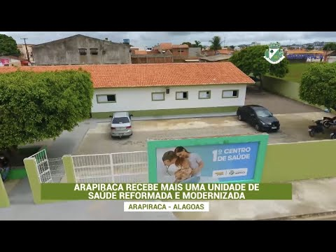 PREFEITURA ENTREGA 1º CENTRO DE SAÚDE REFORMADO