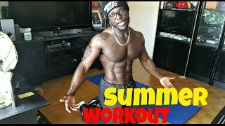 Full Body SUMMER Workout - Fat Burning Workout At Home