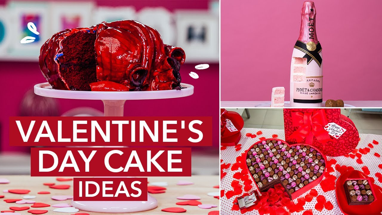 Valentine's Day Cake SHOWDOWN! Lovesick vs. Drunk In Love | How To Cake It with Yolanda Gampp