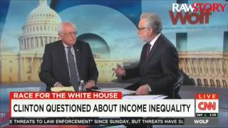 Bernie Sanders talks to CNN about plan to eliminate public college tuition