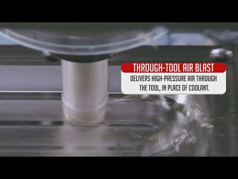 Through Tool Air Blast - Haas Automation Option Spotlight