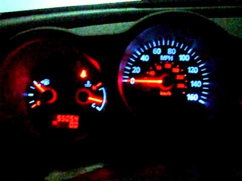 2004 Nissan Maxima Speedometer Led Mod Youtube
