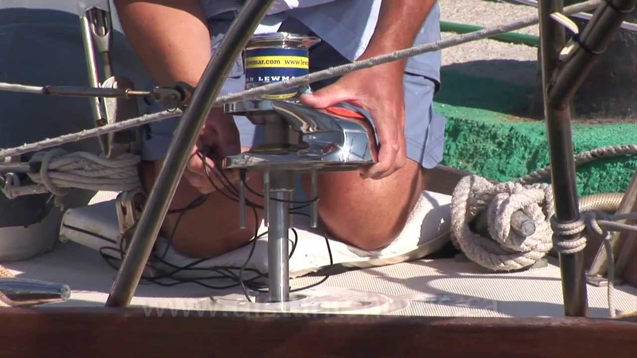 Electric Anchor Winch Wiring Diagram