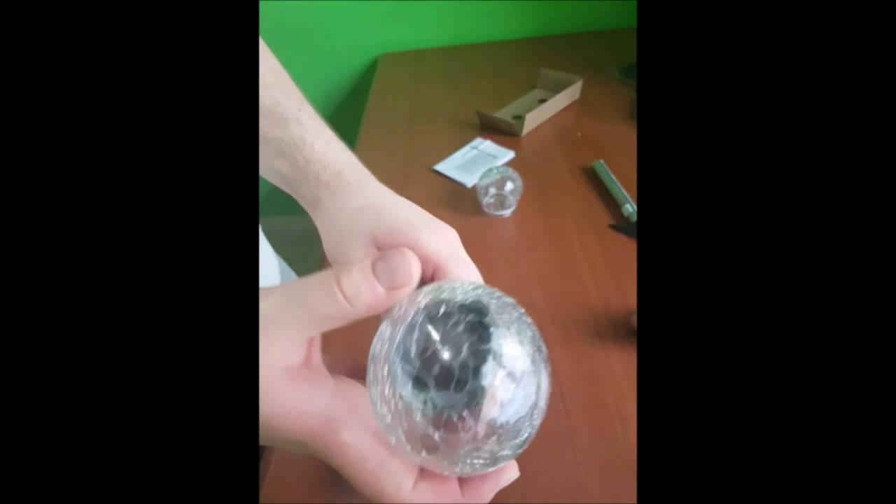 Luci da giardino sfere: luce a sfera set di illuminazione da