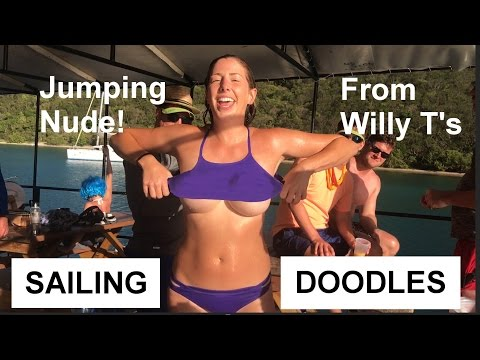 Jumping Nude Off Of Willy T's! - S1:E27
